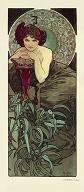Pohled A. Mucha - Emerald
