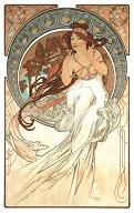 Pohled A. Mucha - Music