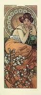 Pohled A. Mucha - Topaz