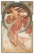 Pohled A. Mucha - Dance